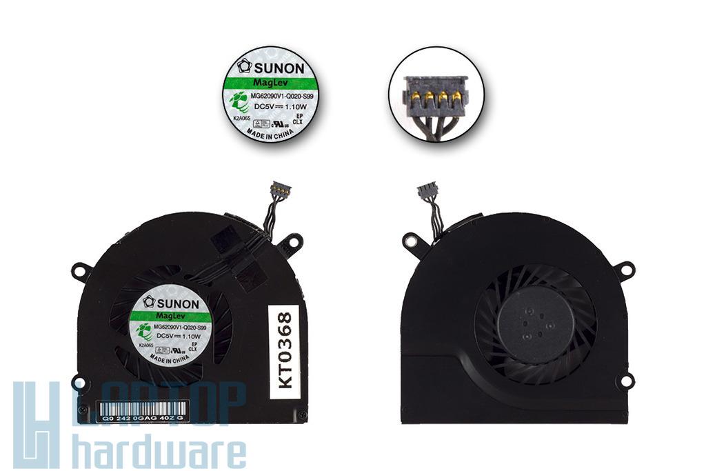 Apple MacBook Pro Unibody 15 inch gyári új jobb oldali hűtő ventilátor, MG62090V1-Q020-S99