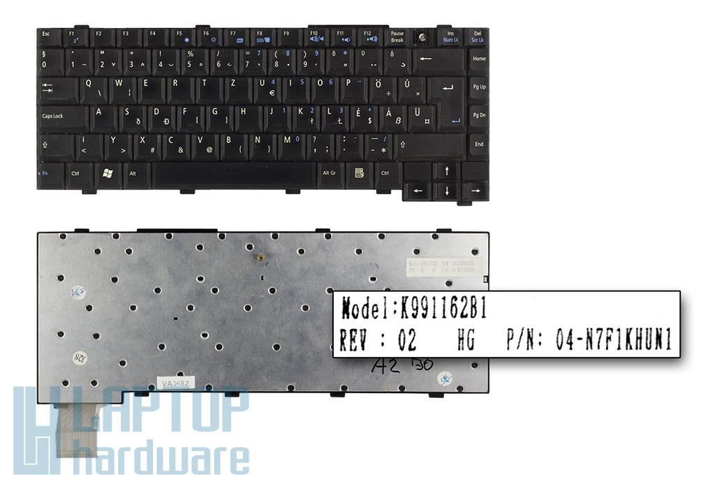 Asus A2, D1, L5 használt, hiányos magyar laptop billentyűzet (K991162B1)