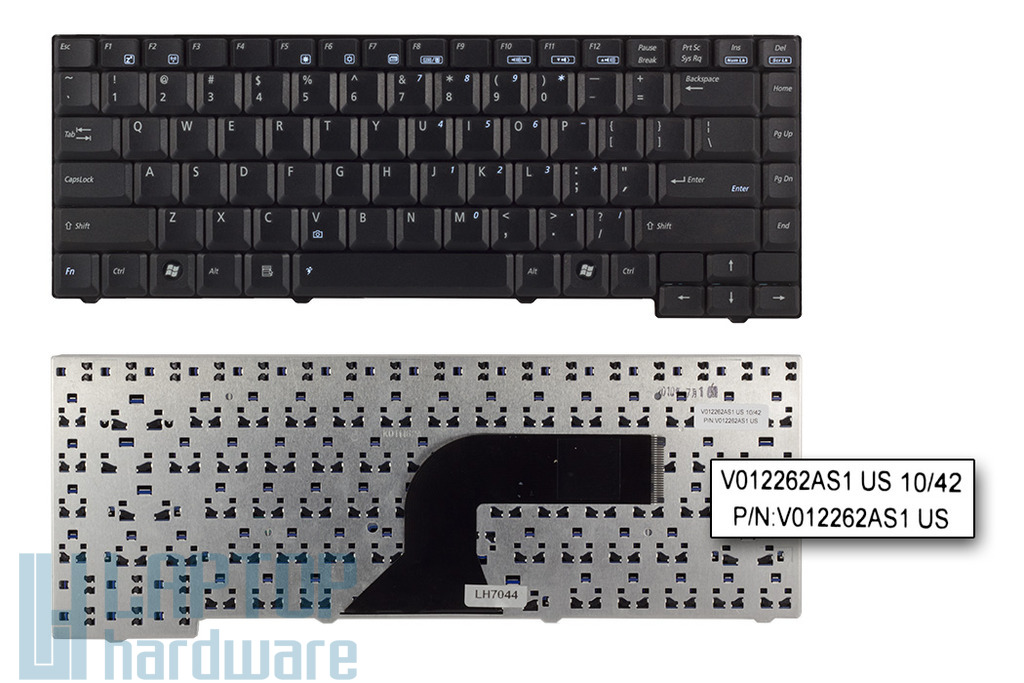 Asus A3000, A4000, A7000, F5, F5V, F5VL, X50V, R20 gyári új angol laptop billentyűzet (04GN9V1KUSA2-2)