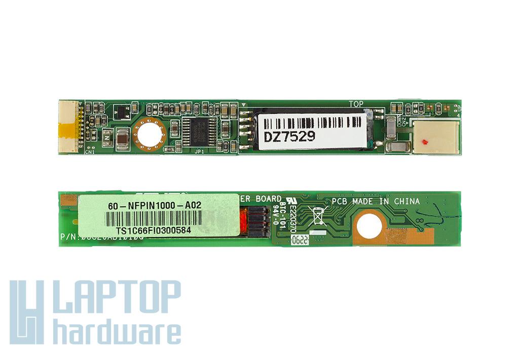 Asus A3FC, A3HF, A6F laptophoz használt LCD inverter (60-NFPIN1000-A02)