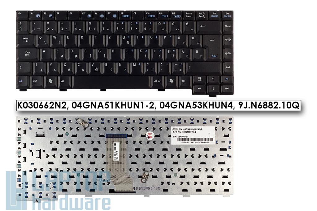 Asus A3G, A6 (A6000), Z92F gyári új magyar laptop billentyűzet (04GNA51KHUN1-2)