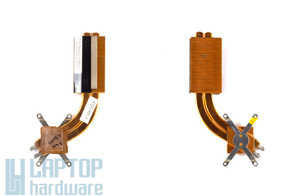 Asus A3L, A3G, A3N laptophoz használt hőelvezető cső (13-NA51AM011)