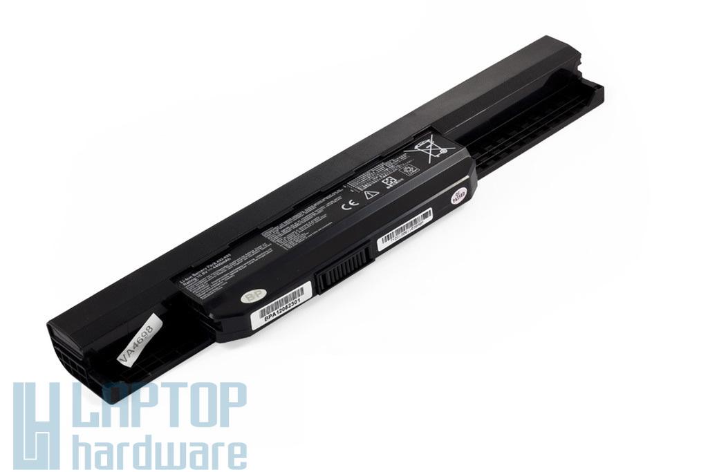 Asus A53, K53, X53 helyettesítő új 6 cellás laptop akku/akkumulátor (A32-K53, A42-K53)
