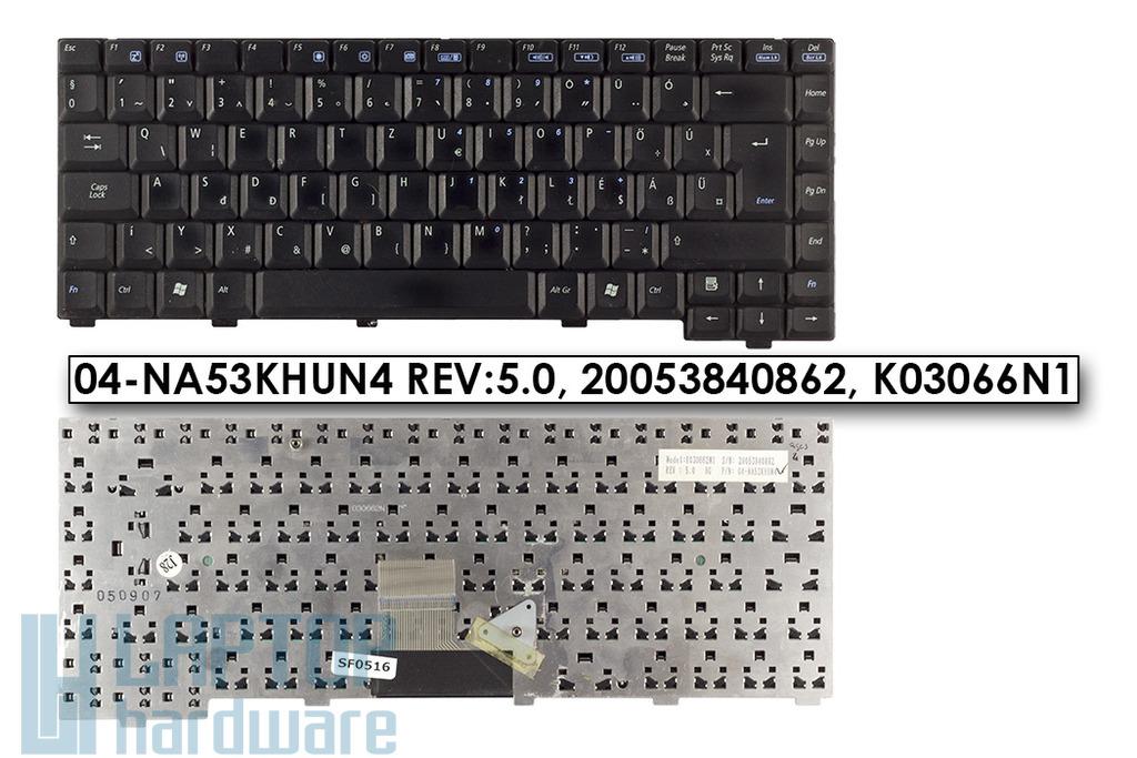 Asus A6R használt HU magyar laptop billentyűzet (04-NA53KHUN4)