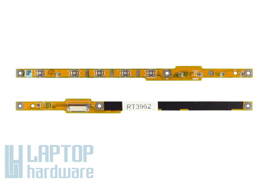 Asus A7 laptophoz használt bekapcsoló és hangerő panel, 60-NG3AD1000-A02