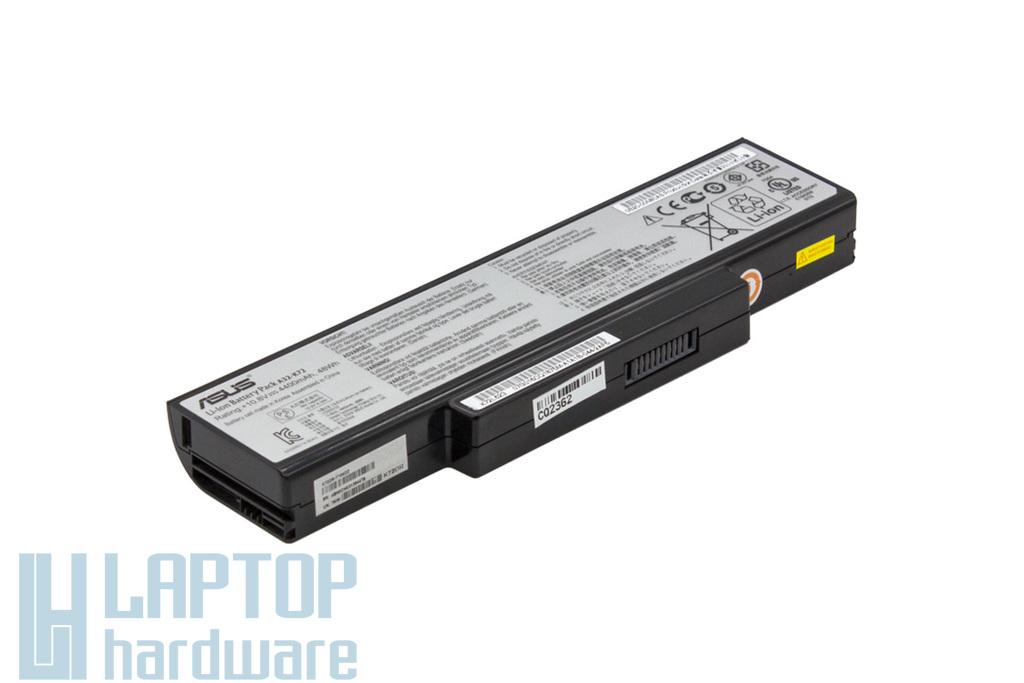 Asus A72, K72, K73, N71 használt 90%-os 6 cellás gyári laptop akku/akkumulátor (A32-K72, A32-N71)