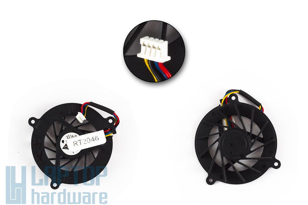 Asus A8, F3, Z53, Z99 használt laptop hűtő ventilátor (KFB0505HHA)
