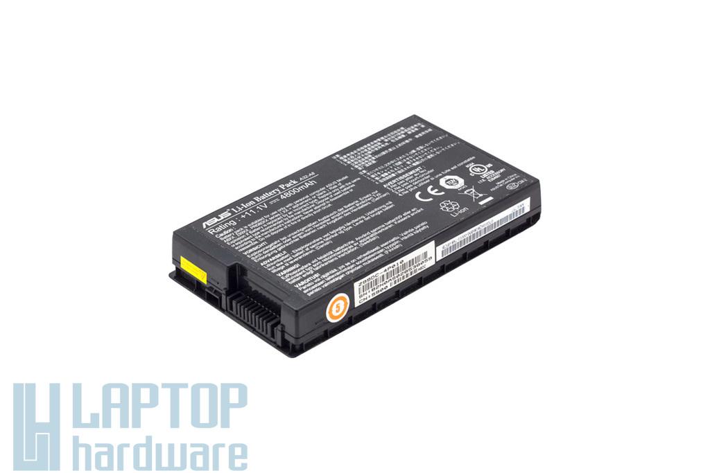 Asus A8, F8, X80 használt 80%-os 6 cellás gyári laptop akku/akkumulátor (A32-A8, 07G016Q8186B)