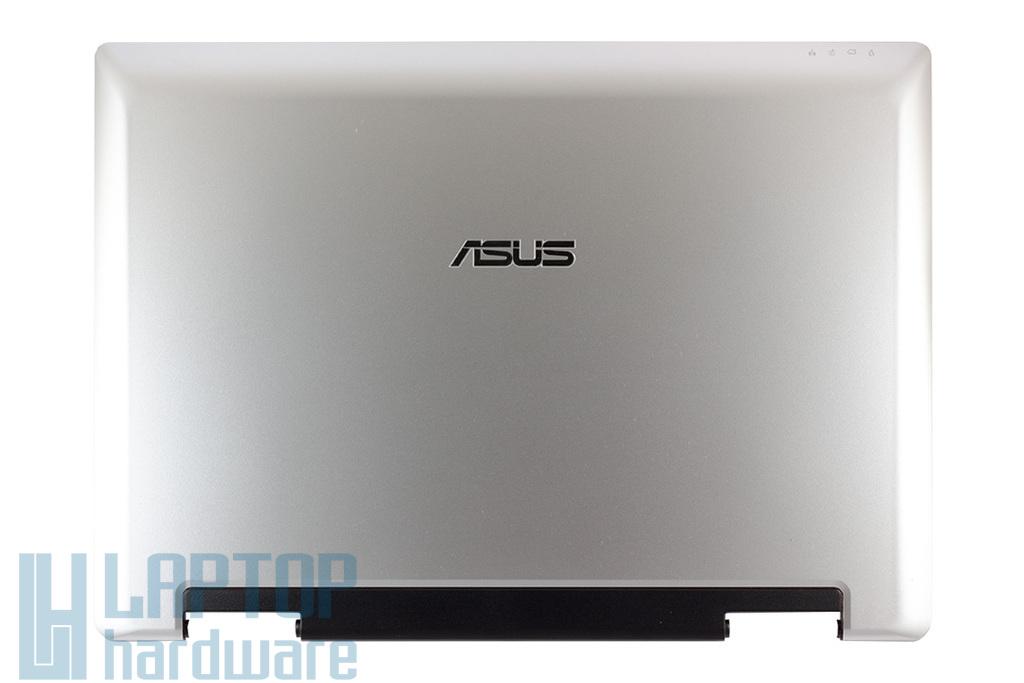 Asus A8E, A8LE, A8F laptophoz gyári új LCD ezüst hátlap zsanér párral, Wifi antennával, 13GNNW1AP031-1