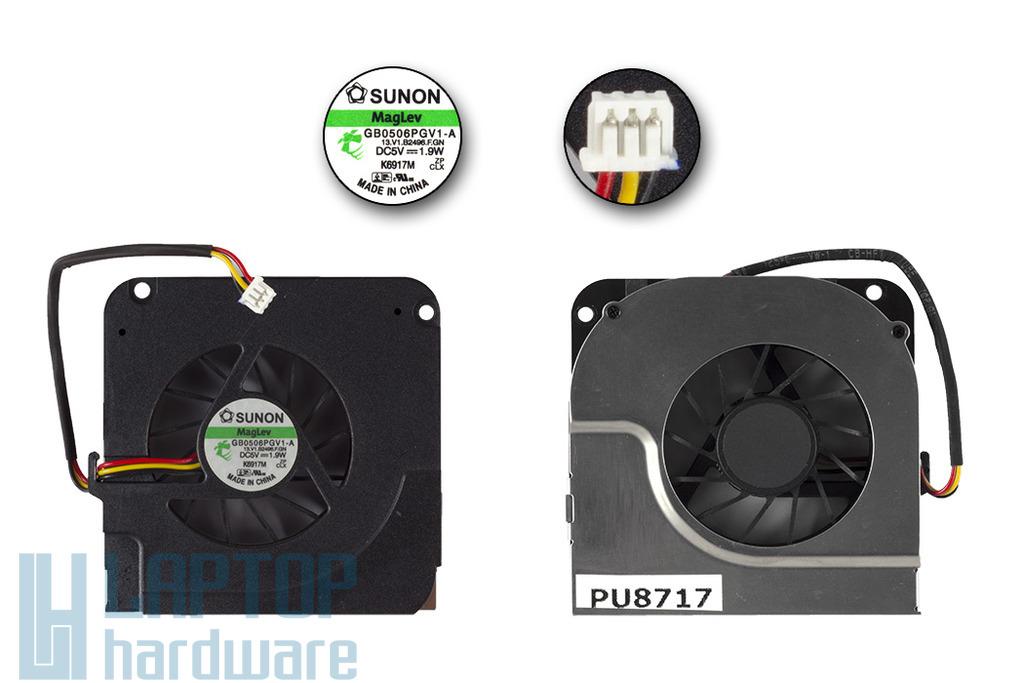 Asus A9RP használt laptop hűtő ventilátor (GB0506PGV1-A)