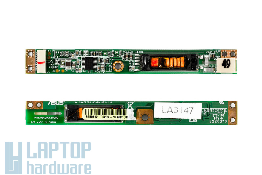Asus A7, A9RP, Z8T LCD Inverter