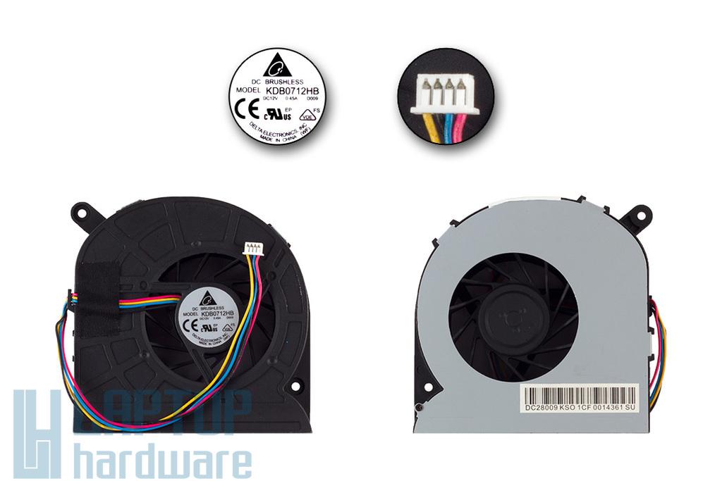 Asus All-in-One PC ET2400, ET2700 gyári új hűtő ventilátor (13GPE3J10P010-1, KDB0712HB D009)
