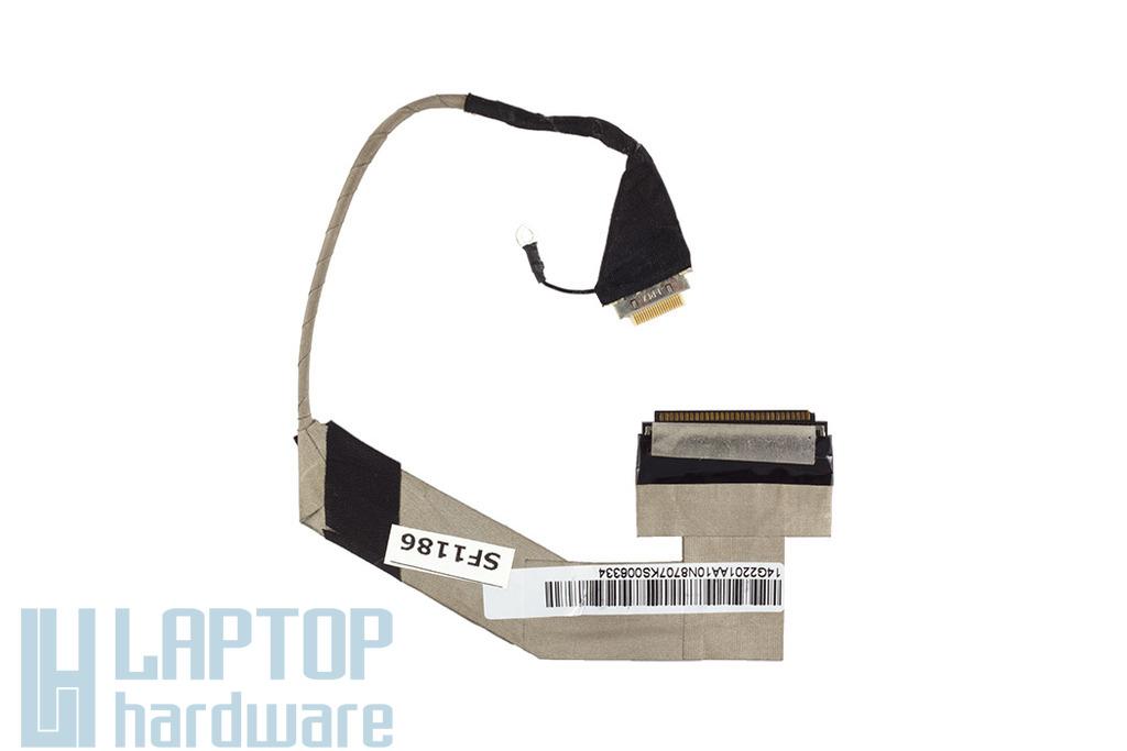 Asus EEE Pc 1000HA laptophoz használt LCD kábel, 14G2201AA10