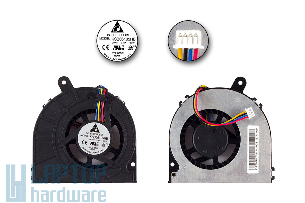 Asus EeeBox B202 gyári új hűtő ventilátor (KSB06105HB-B310)