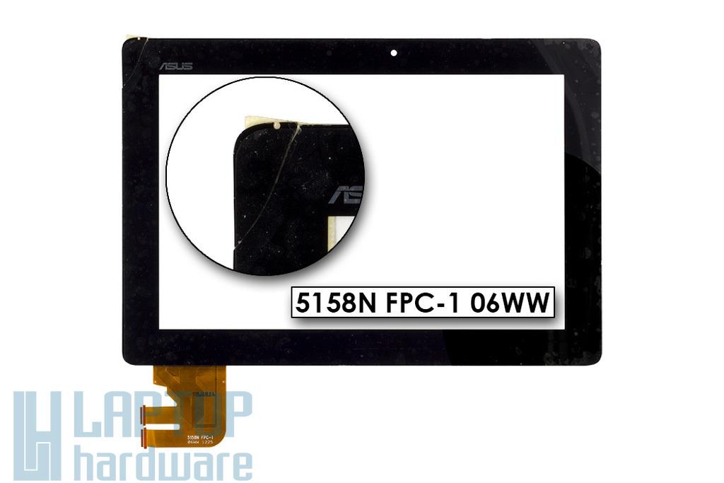 Érintő panel, touchscreen (értékcsökkent) Asus EeePad Transformer TF300T tablethez (5158N FPC-1 06WW)