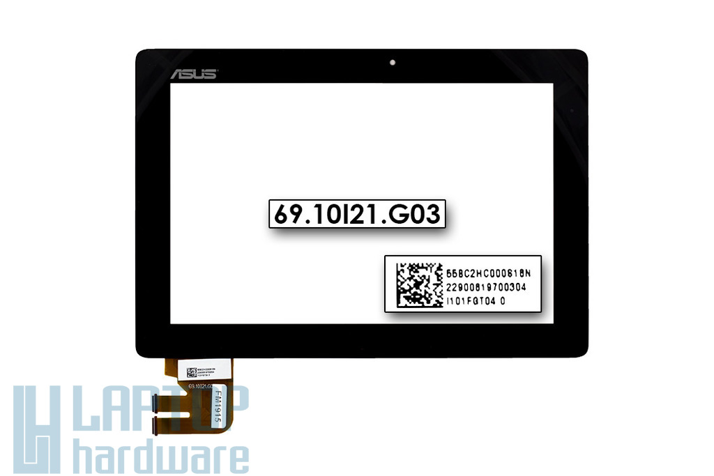 Érintő panel, touchscreen Asus EeePad Transformer TF300T tablethez (69.10I21.G03)