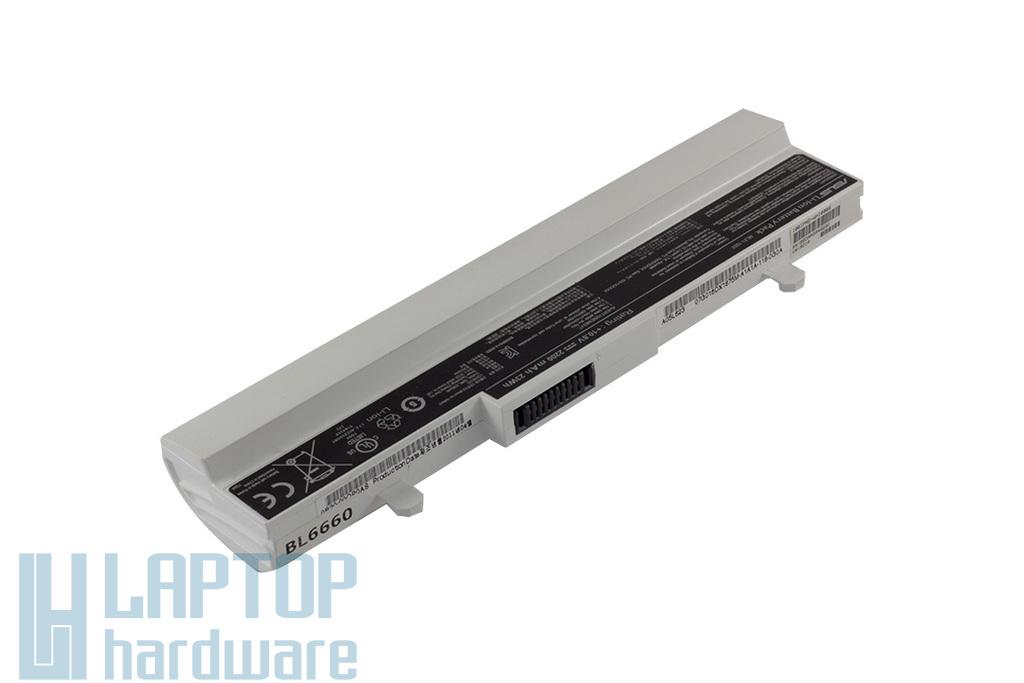 Asus EEEPC 1001HA, 1005HA használt 6 cellás 75%-os fehér laptop akku/akkumulátor (ML31-1005)