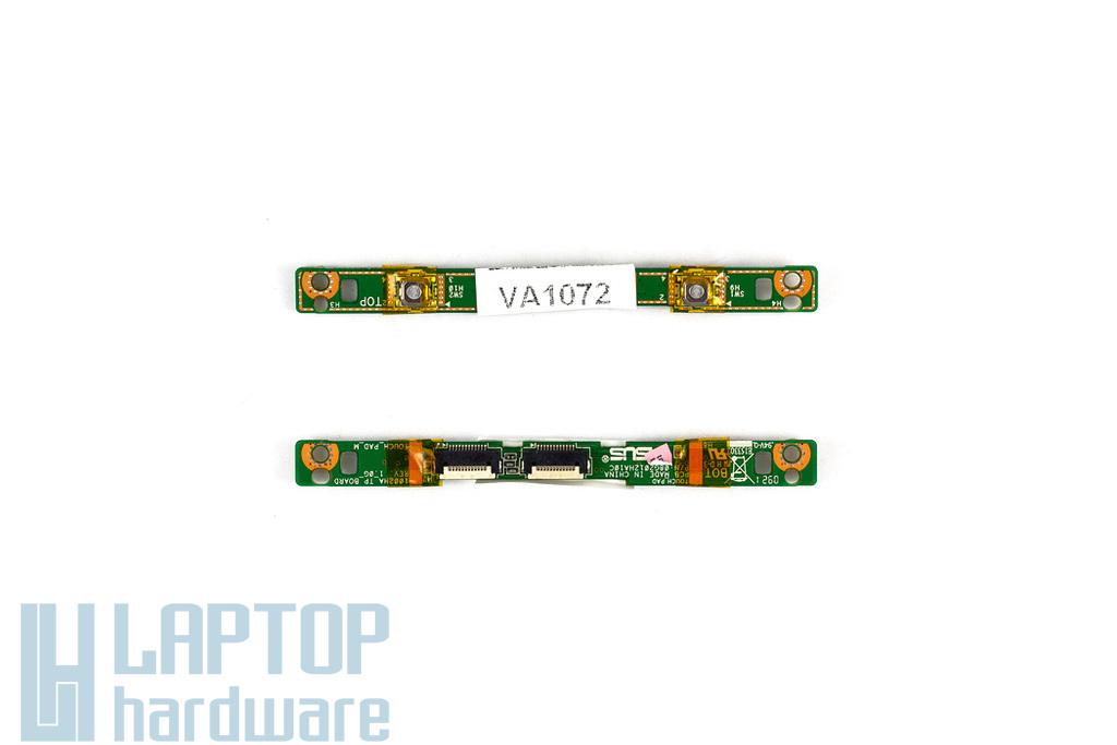 Asus EEEPC 1002H, 1003HAG használt touchpad gomb panel (08G2012HA10C)