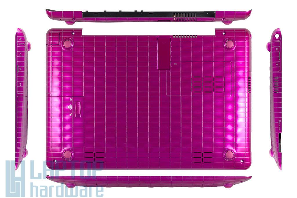 Asus EEEPC 1008P, 1008PB laptophoz gyári új pink netbook alsó fedél hangszórókkal, 13GOA1PBAP050-10
