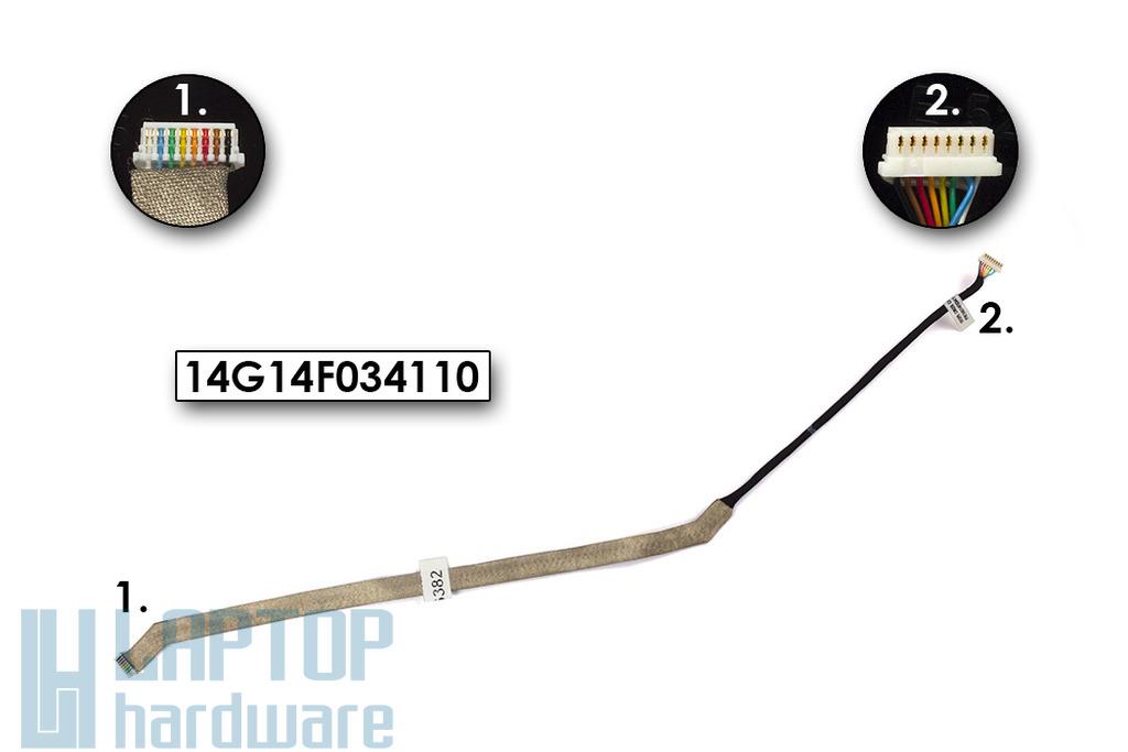 Asus EEEPC 1011PX, 1015BX, R011PX netbook webkamera kábel, 14G14F034110