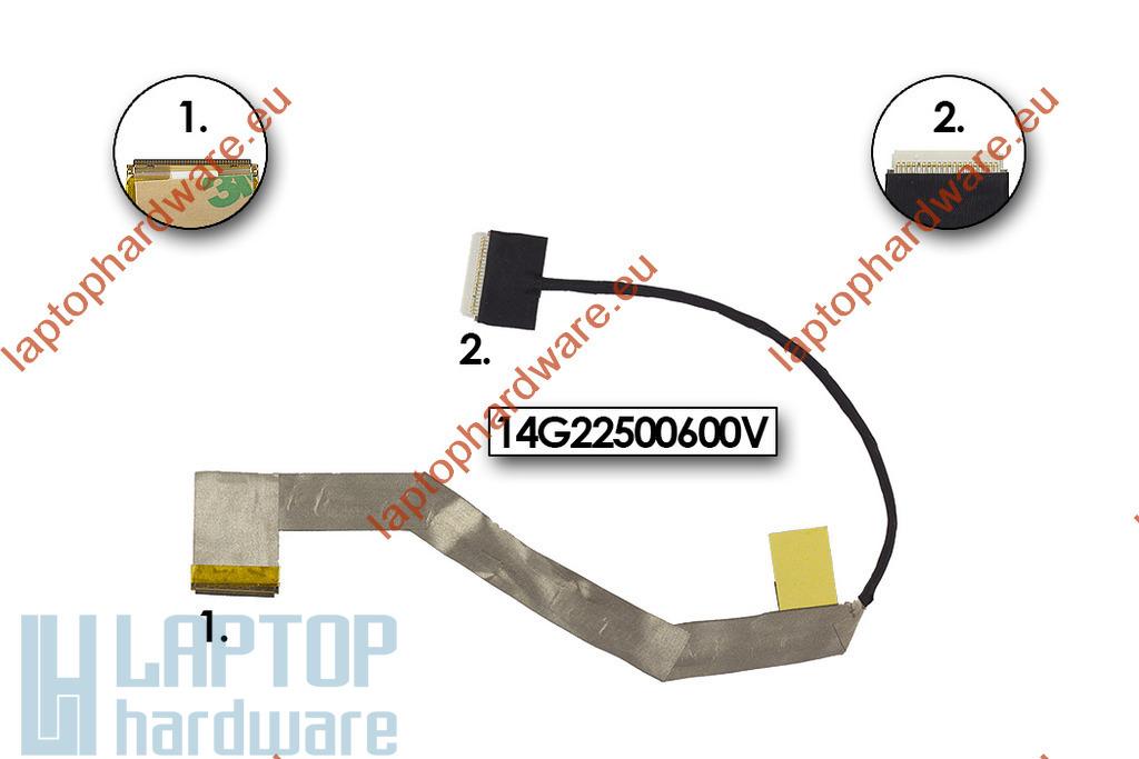 Asus EEEPC 1011PX, 1015PX, 1015BX használt LCD kijelző kábel, 14005-00300100C
