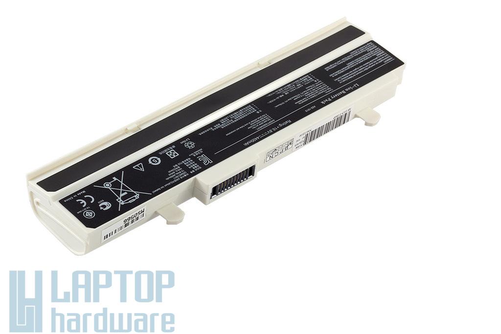 Asus EEEPC 1015, 1016, 1215 helyettesítő új fehér 6 cellás laptop akku/akkumulátor (A32-1015)