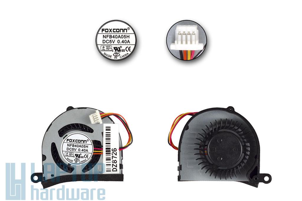 Asus EEEPC 1015BX, R051BX netbookhoz gyári új hűtő ventilátor, NFB40A05H