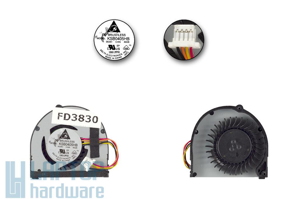 ASUS EEEPC 1015PE, 1015PEM gyári új hűtő ventilátor, 13GOA2910P290-20