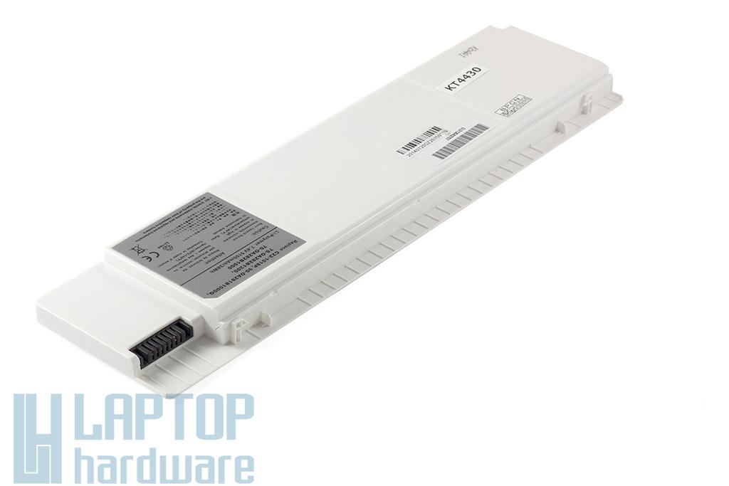 Asus EEEPC 1018P helyettesítő új 6 cellás fehér laptop akku/akkumulátor  (C22-1018P)