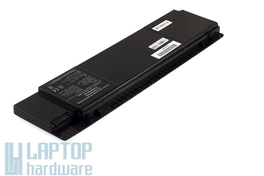Asus EEEPC 1018P helyettesítő új 6 cellás fekete laptop akku/akkumulátor  (C22-1018P)