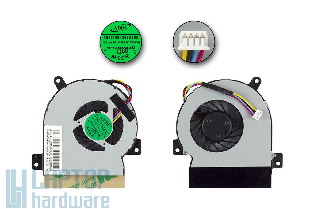 Asus EEEPC 1215B, 1215CT, 1215N, 1215P, 1215T gyári új hűtő ventilátor, AB5105HX69DB00