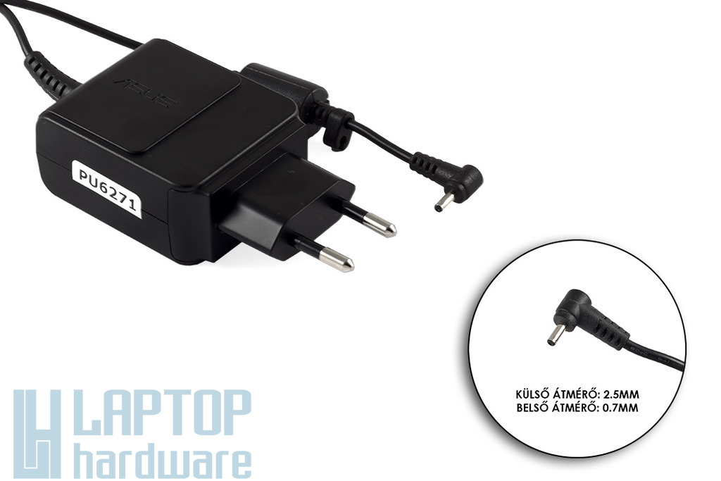 Asus EEEPC 19V 1.58A 30W gyári új laptop töltő (04G26B001150, EXA1004EH, 30W18V)