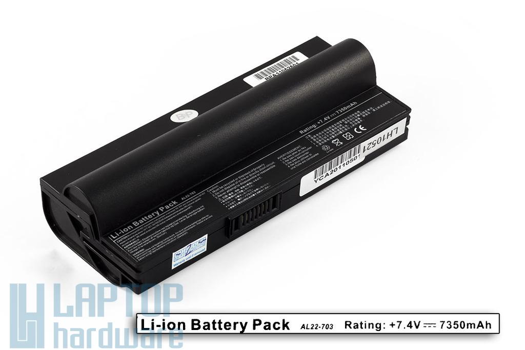 Asus EEEPC 703, 900A,  helyettesítő új 6 cellás laptop akku/akkumulátor (AL22-703 S)
