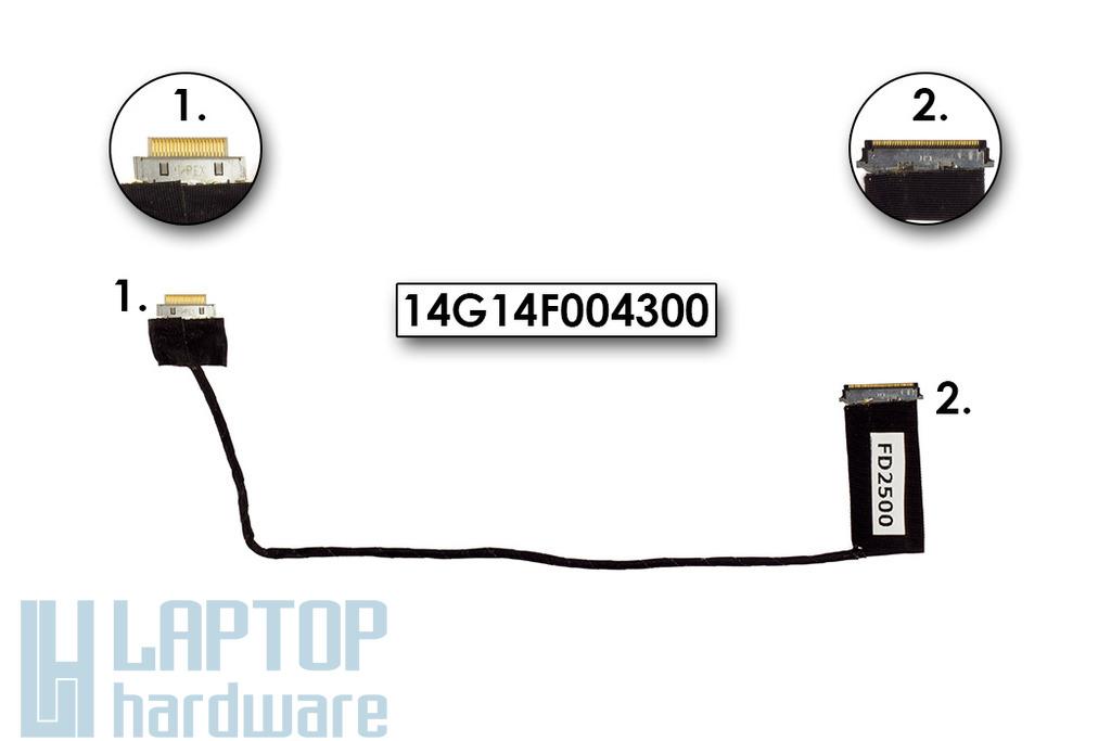 Asus EEEPC 900 laptophoz használt 8,9 inch LCD Kábel (14G14F004300)