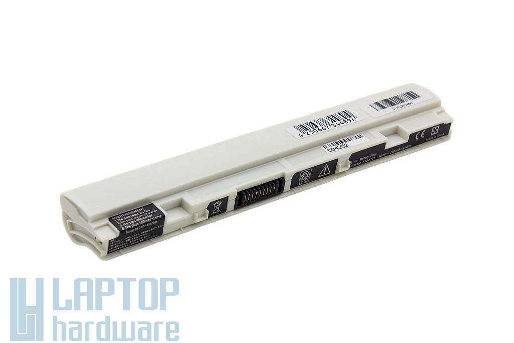 Asus EEEPC X101 helyettesítő új fehér laptop akku/akkumulátor (A32-X101)