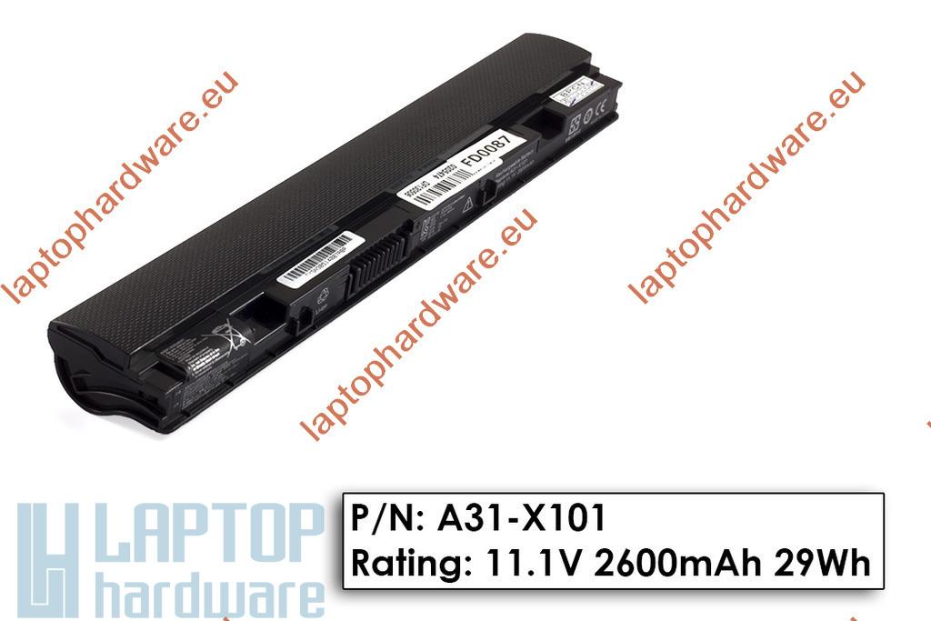 Asus EEEPC X101 használt 70%-os, 3 cellás gyári laptop akku/akkumulátor (A31-X101, X10L893)