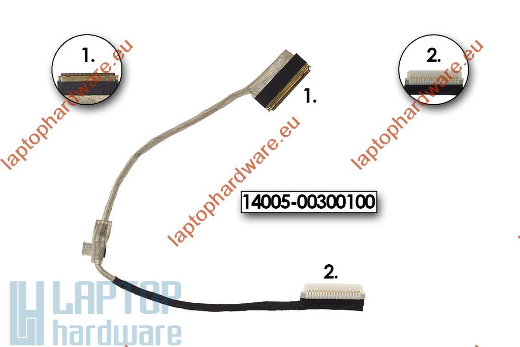 Asus EEEPC X101CH netbookhoz gyári új LCD kábel (14005-00300100)