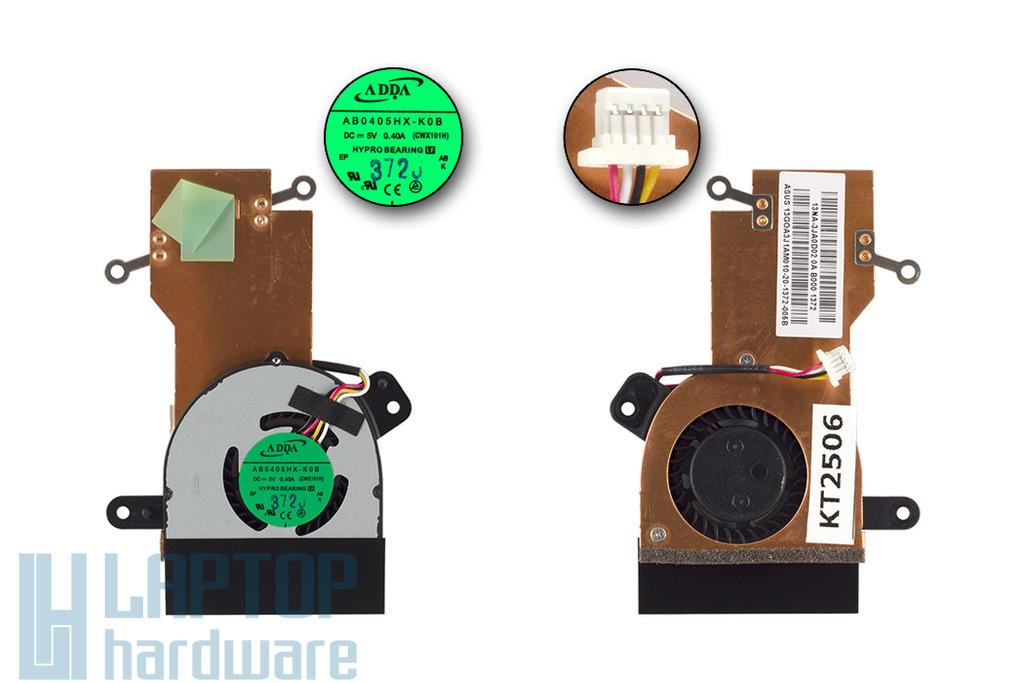 Asus EEEPC X101H gyári új komplett laptop hűtő ventilátor egység (13GOA3J1AM010-20)