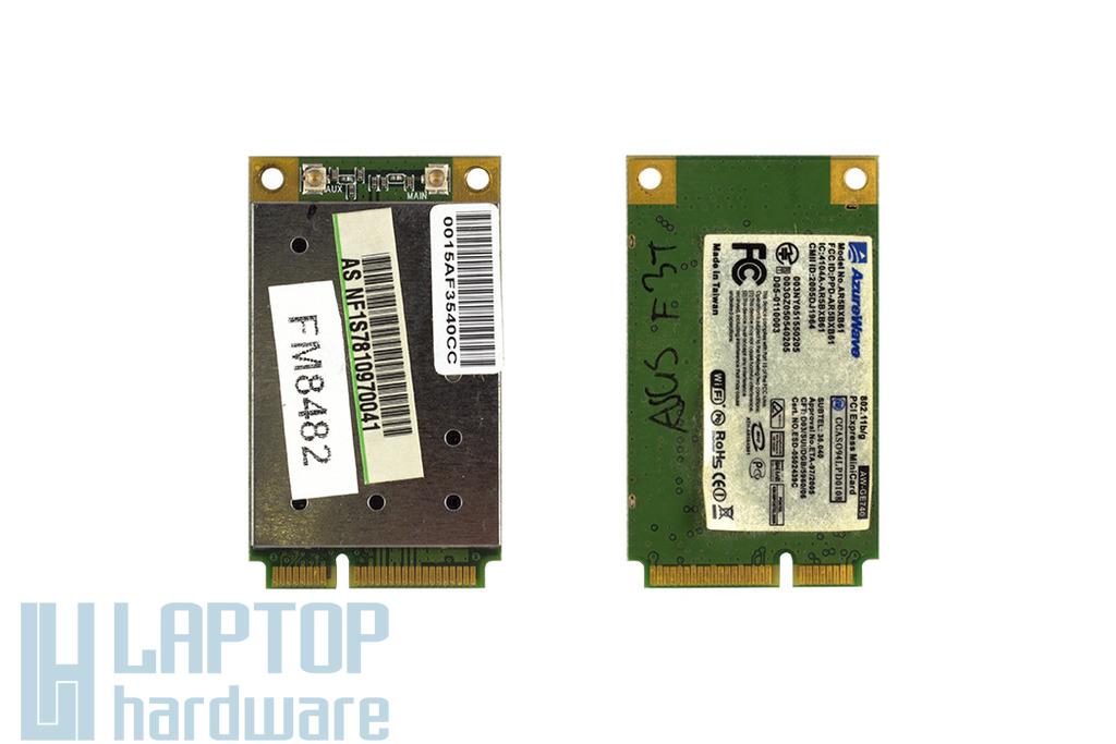 Asus F3, F3J, F3S laptophoz használt WiFi kártya (AW-GE740)
