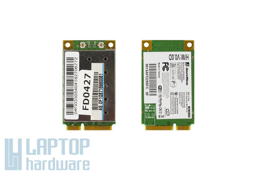 Asus F3, F3J, F3S laptophoz használt WiFi kártya (AW-GE780)
