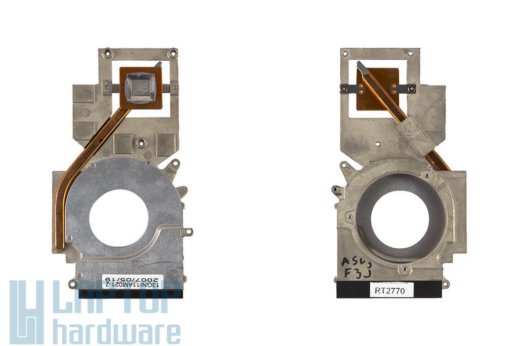 Asus F3JC, F3P, M51SN laptophoz használt VGA hőelvezető cső, heatpipe (13GNI11AM021-3)