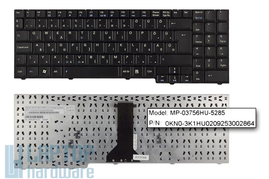 Asus F7SE, F7Z, M51A gyári új magyar laptop billentyűzet (04GND91KHU10)