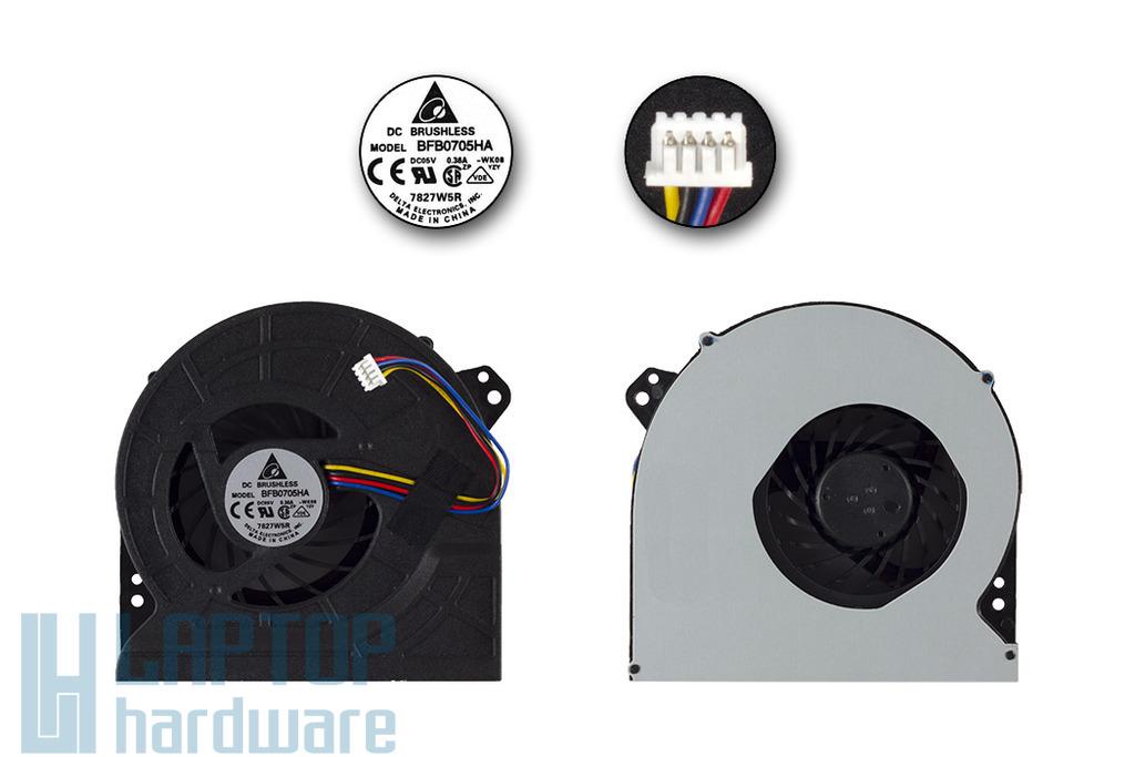 Asus G74SX laptophoz gyári új hűtő ventilátor BFB0705HA-WK08