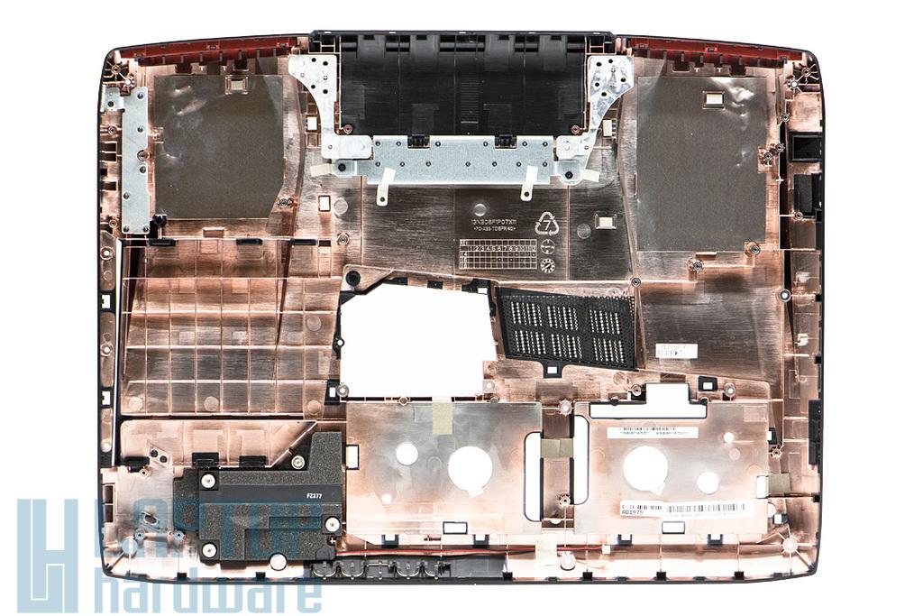 Asus G751JT, G751JY gyári új laptop alsó fedél (90NB06F1-R7D010)