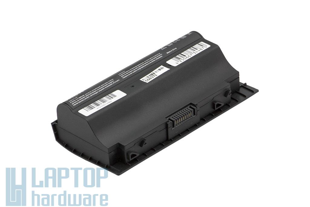 Asus G75VW, G75VX helyettesítő új 8 cellás laptop akku/akkumulátor (A42-G75)