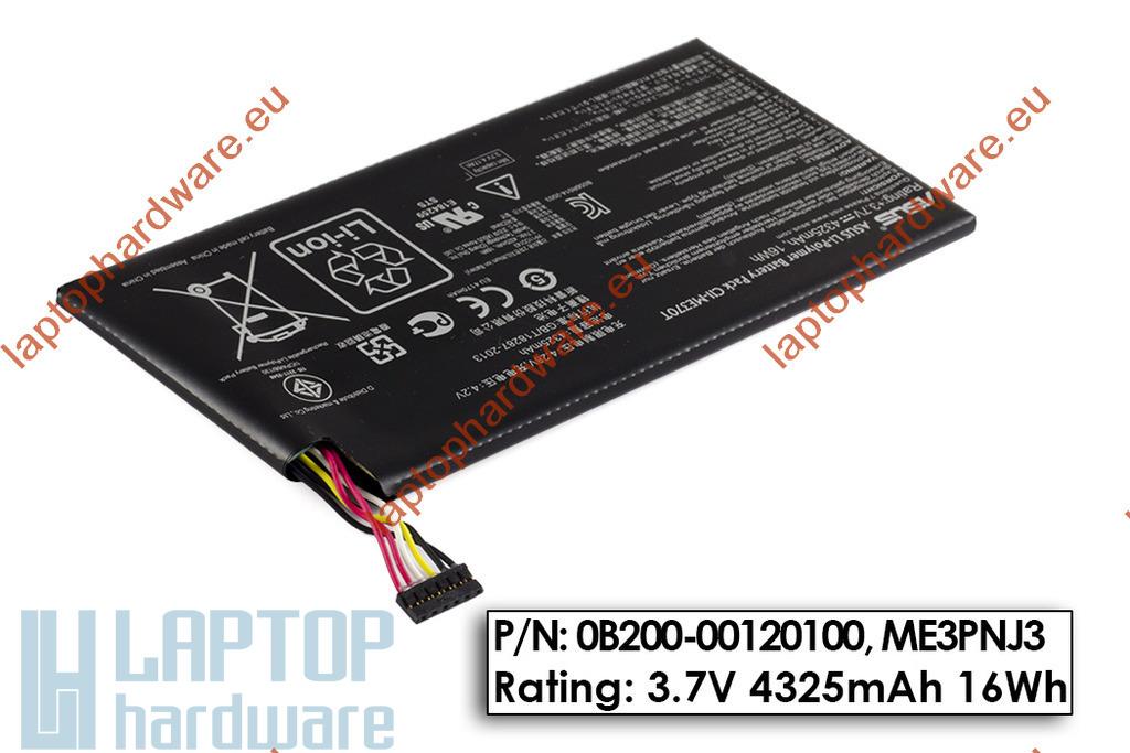 Asus Google Nexus 7 használt tablet akku/akkumulátor  C11-ME370T, 0B200-00120100