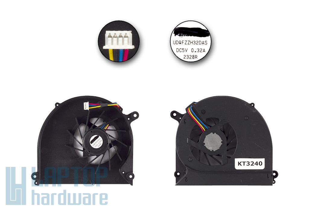 Asus K40AF, K40IN, K50I, K50IJ gyári új hűtő ventilátor, UDQFZZH32DAS