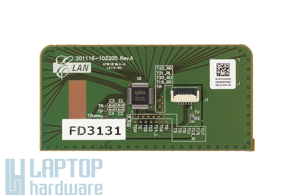 Asus K43BR, K53TA, X53U laptop Gyári Új touchpad, 04060-00160000