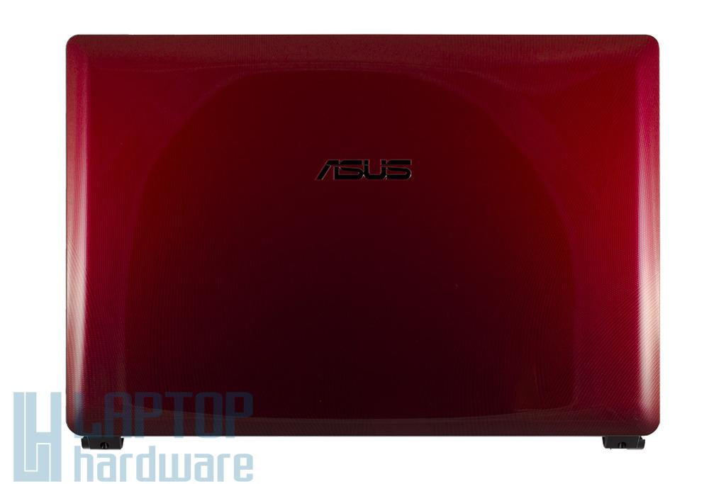 Asus K43E, K43SD, K43SJ laptophoz gyári új bordó LCD hátlap WiFi antennával, 13GN3R6AP010-1