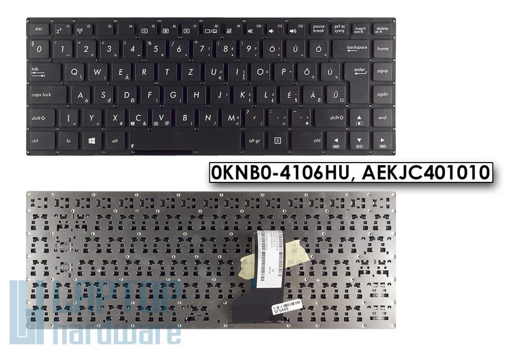 Asus K46 K46C K46CA gyári új magyar laptop billentyűzet, 0KNB0-4106HU